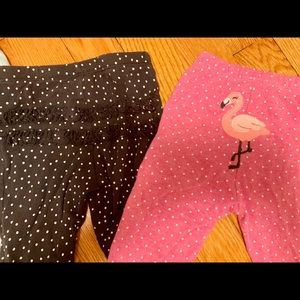15 piece lot of  cute carters pants/tops